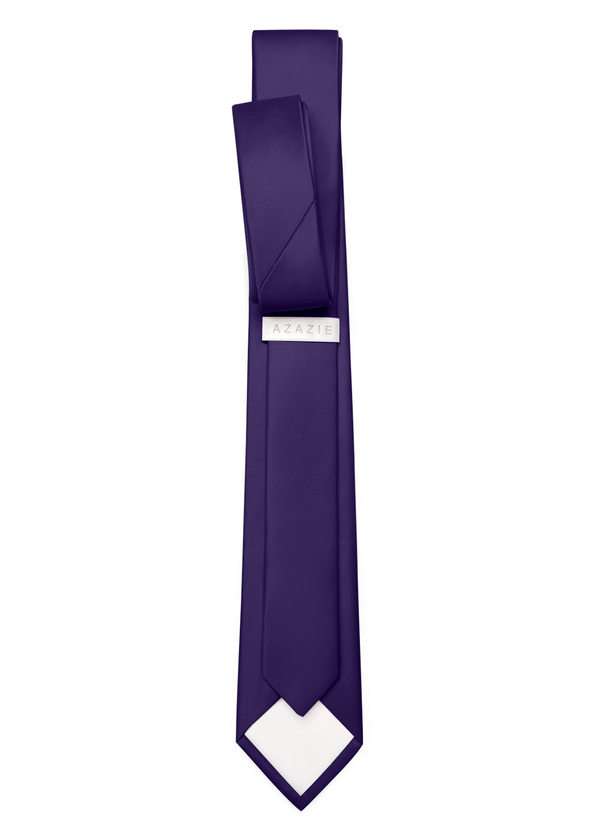 Gentlemen's Collection Matte Satin Skinny Tie