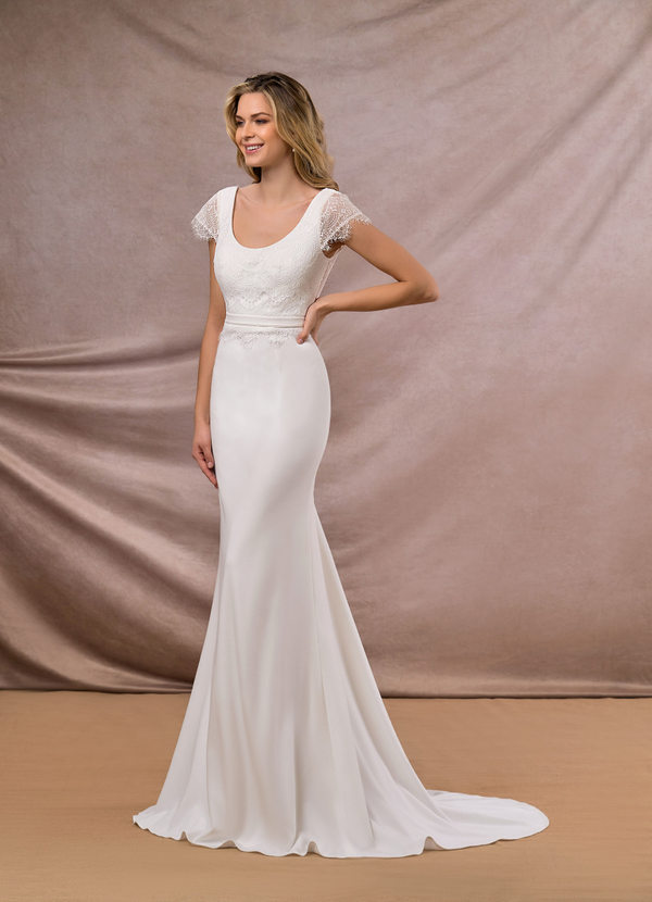 Azazie Pandora Wedding Dress