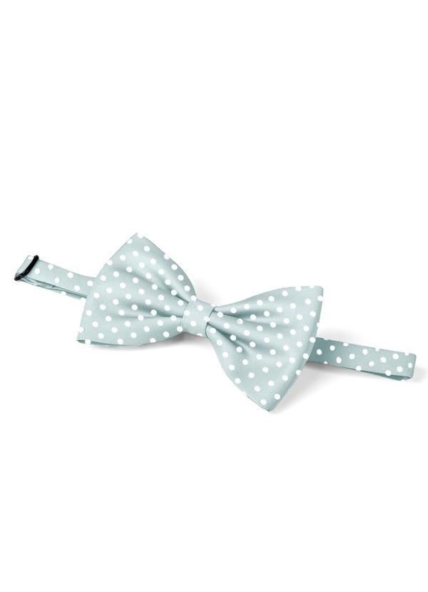 Gentlemen's Collection Men's pre-tied Pin Dots bow tie
