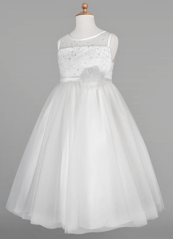 Azazie Elara Flower Girl Dress