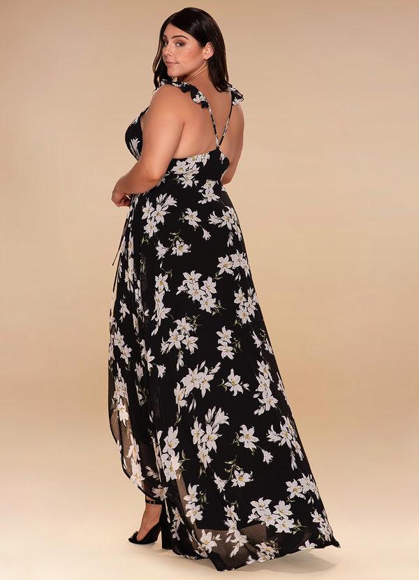 Midsummer Night {Color} High-Low Wrap Dress