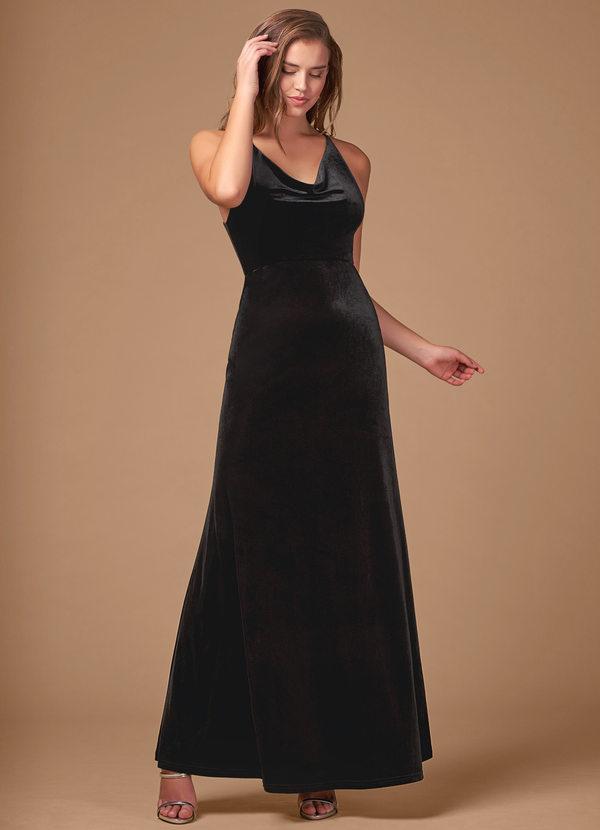 On Fleek {Color} Velvet Maxi Dress