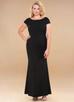 Pure Beauty {Color} Stretch Crepe Maxi Dress