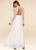 Marvelous {Color} Long Sleeve Lace Maxi Dress