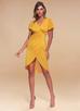 Double the Fun {Color} Surplice Midi Dress