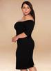 Timeless {Color} Off-The-Shoulder Midi Dress