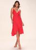 Manhattan Moment {Color} Ruffled Midi Wrap Dress
