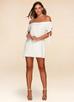 Aegean Sea {Color} Off-The-Shoulder Dress