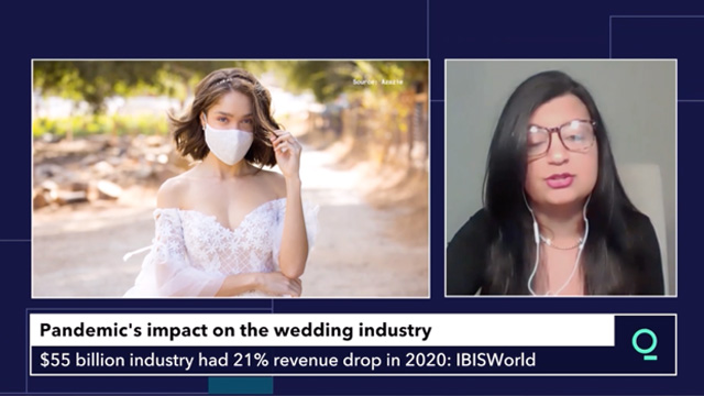 pandemic's impact on the wedding industry