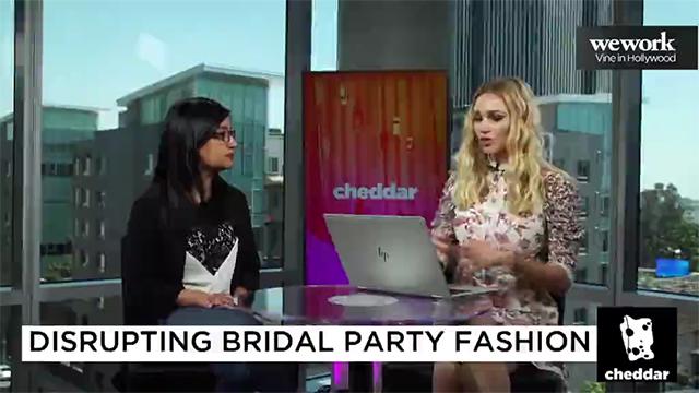 Cheddar TV - Azazie Disrupting Bridal Party Fashion