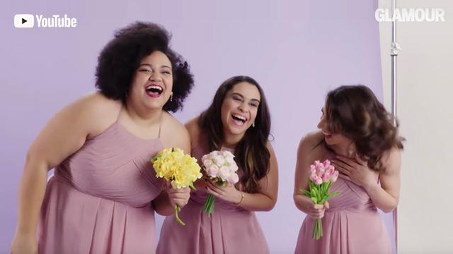 Women Sizes 0 Through 28 Try on the Same Bridesmaid Dress | Glamour