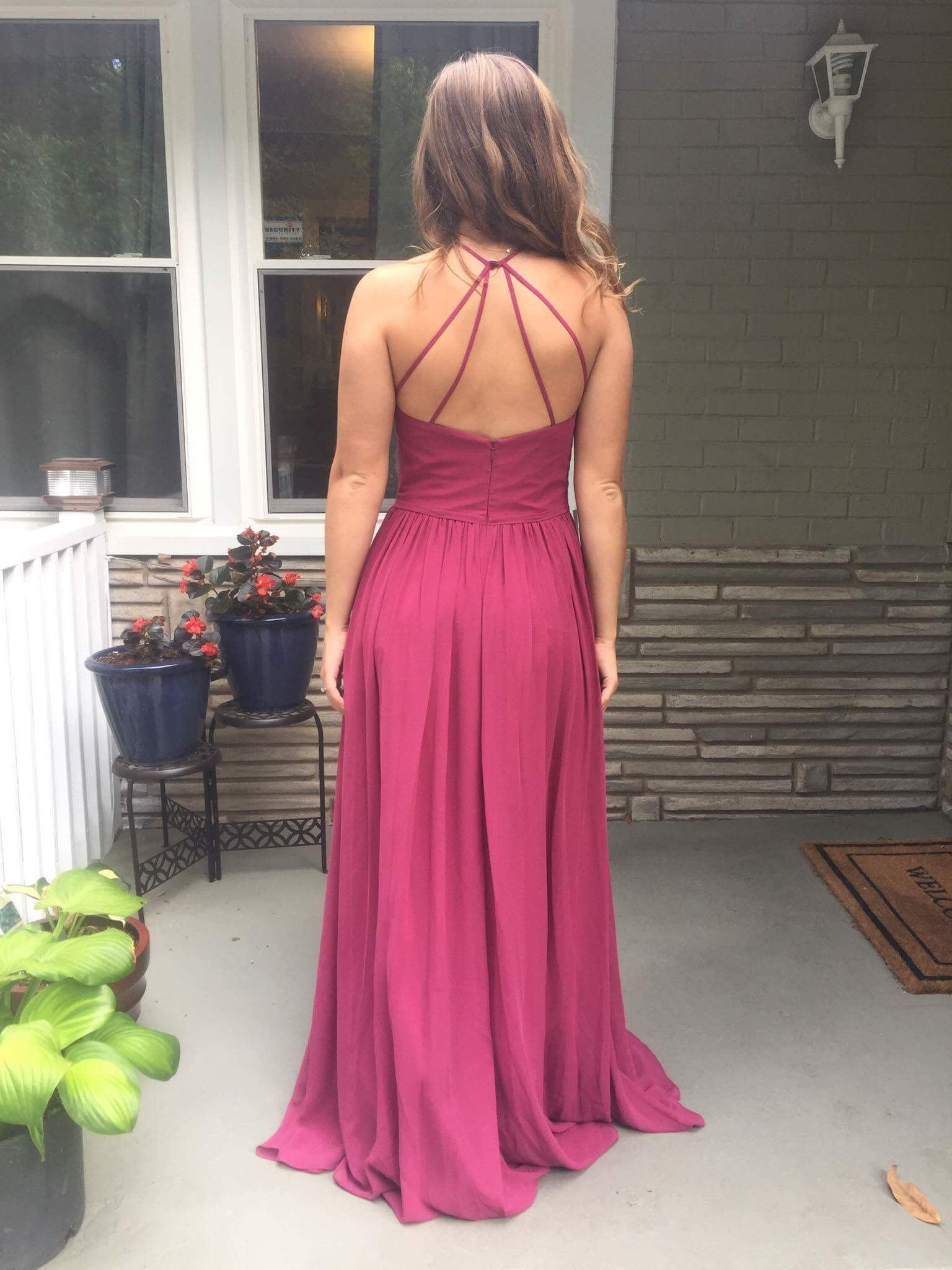 e1c64779e37 Azazie Kailyn Bridesmaid Dress - Burgundy