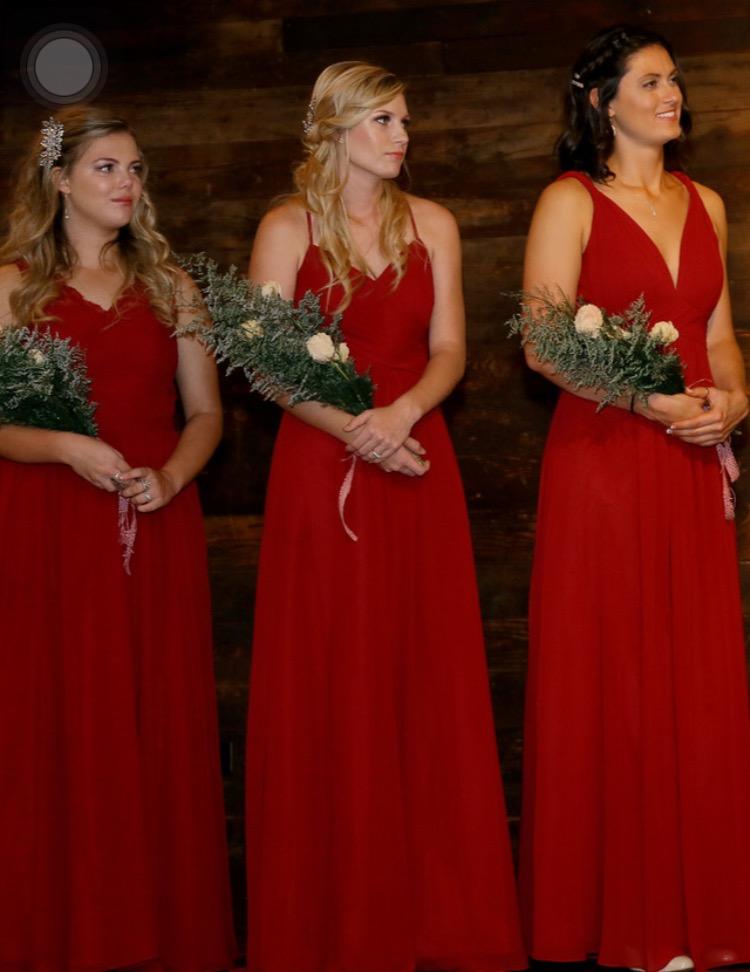 a695eec115 Azazie Haleigh Bridesmaid Dress - Cabernet