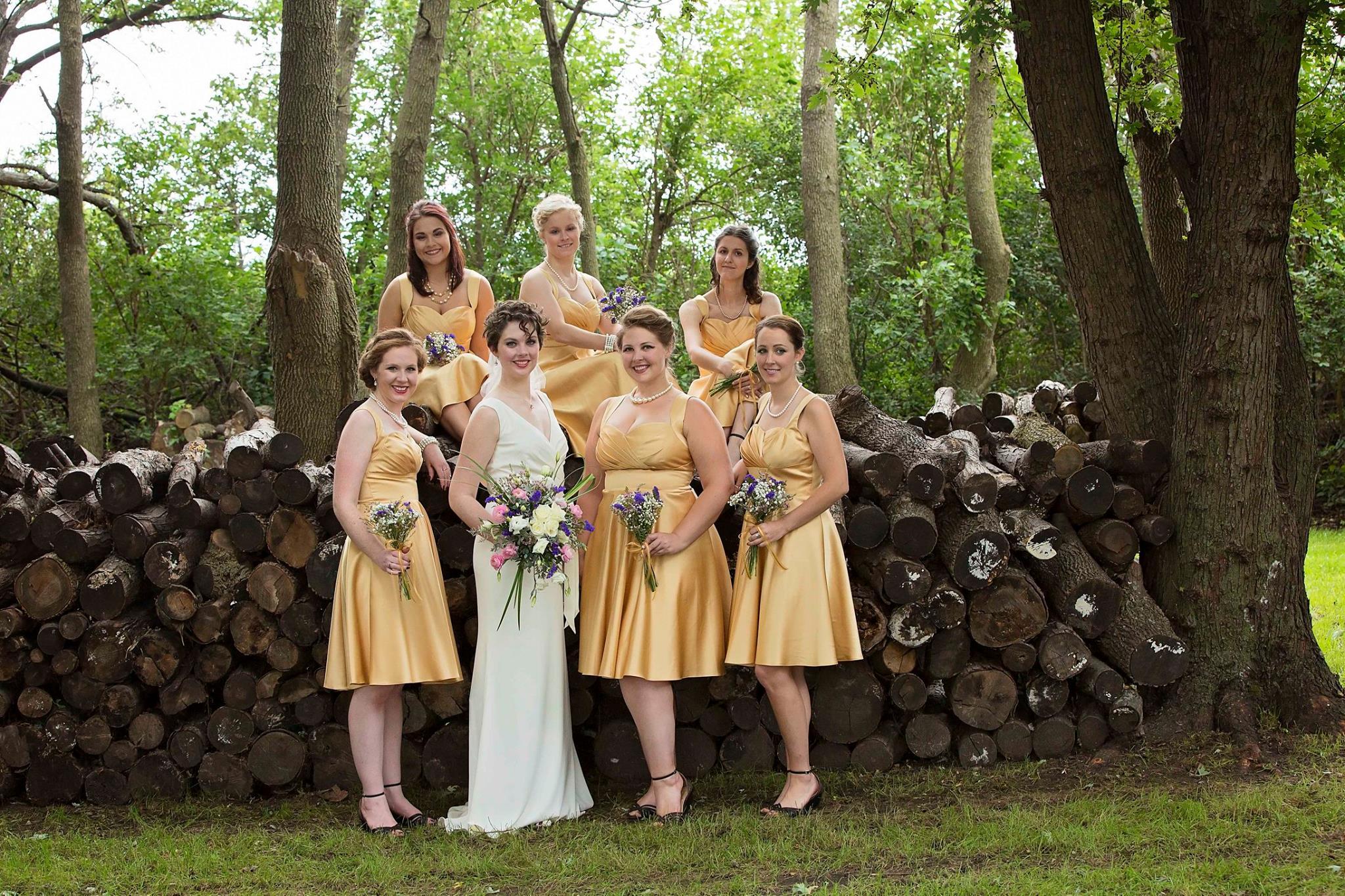 Amber Bridesmaid Dresses