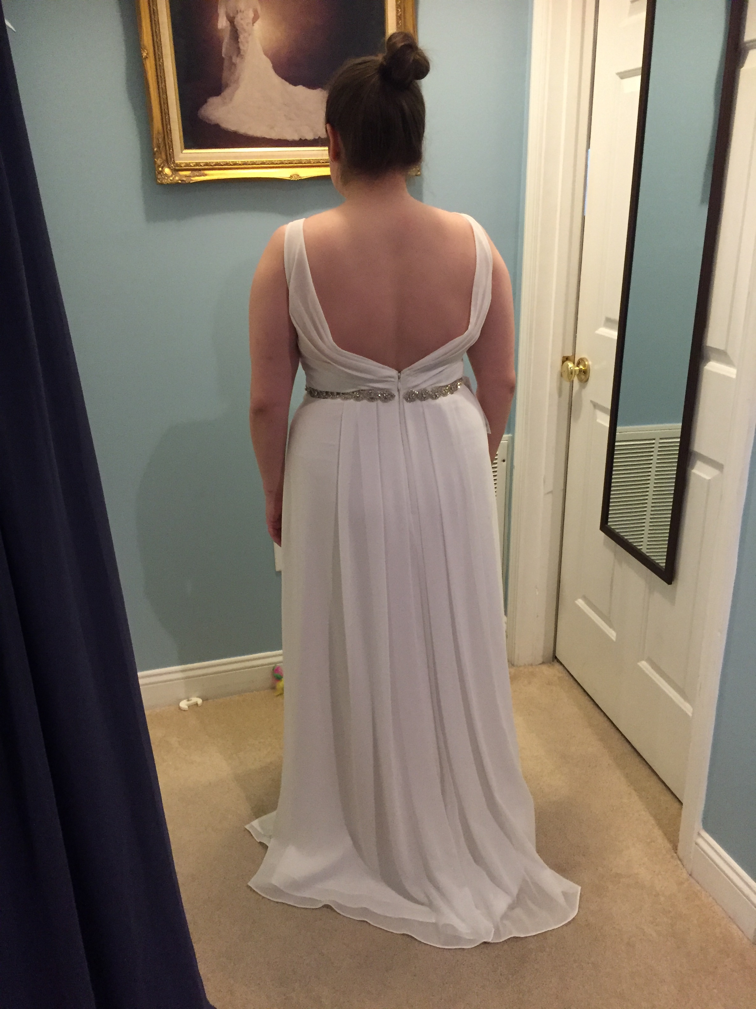 B1351ee3af93202152a63f70298c386bg and fit to this dress very flattering to a curvy figure or a heavy bust this is one size smaller than what i will order but you can get the picture ombrellifo Images