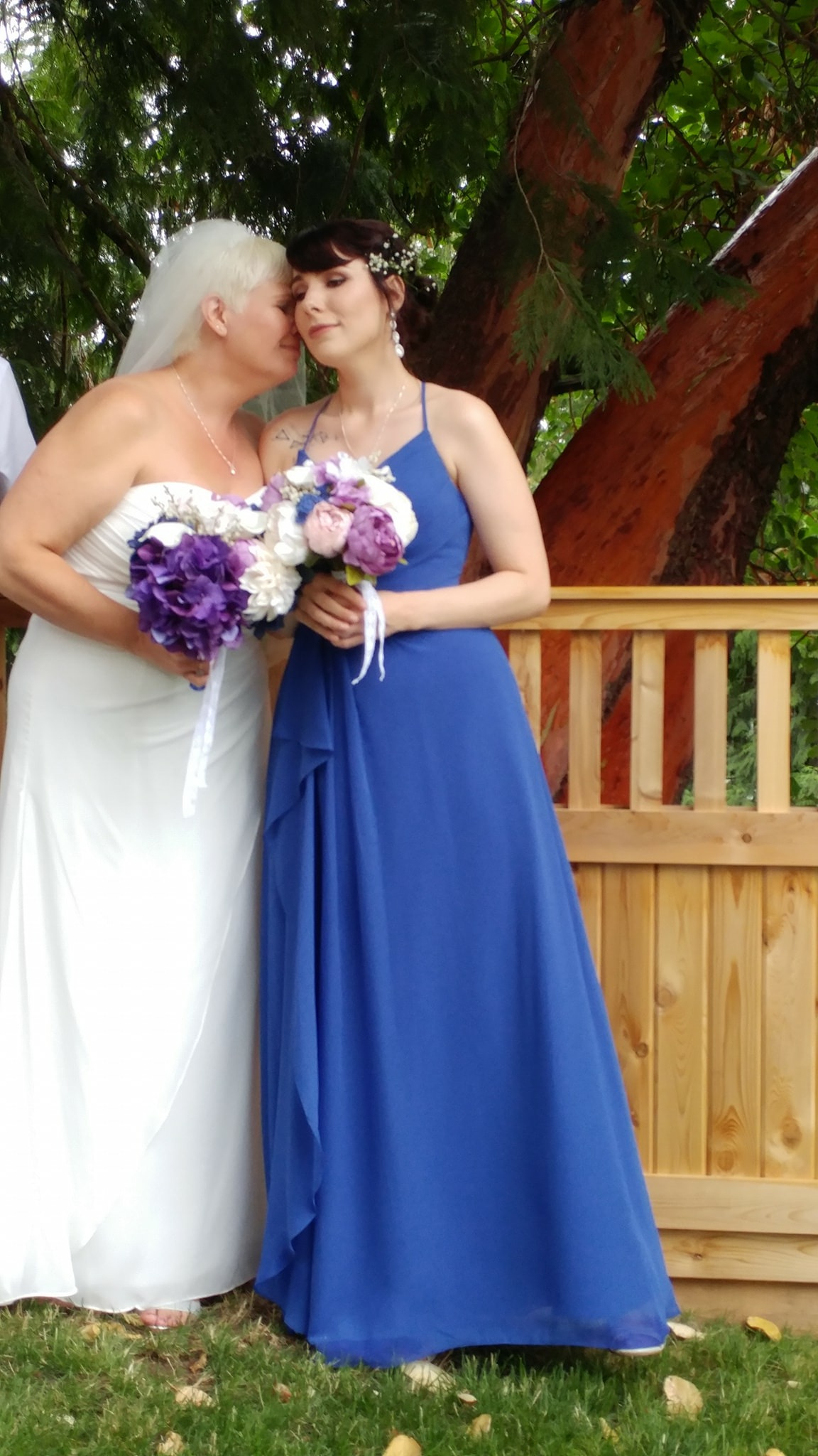 597e3555fa5 Used Azazie Bridesmaid Dress Dusty Blue