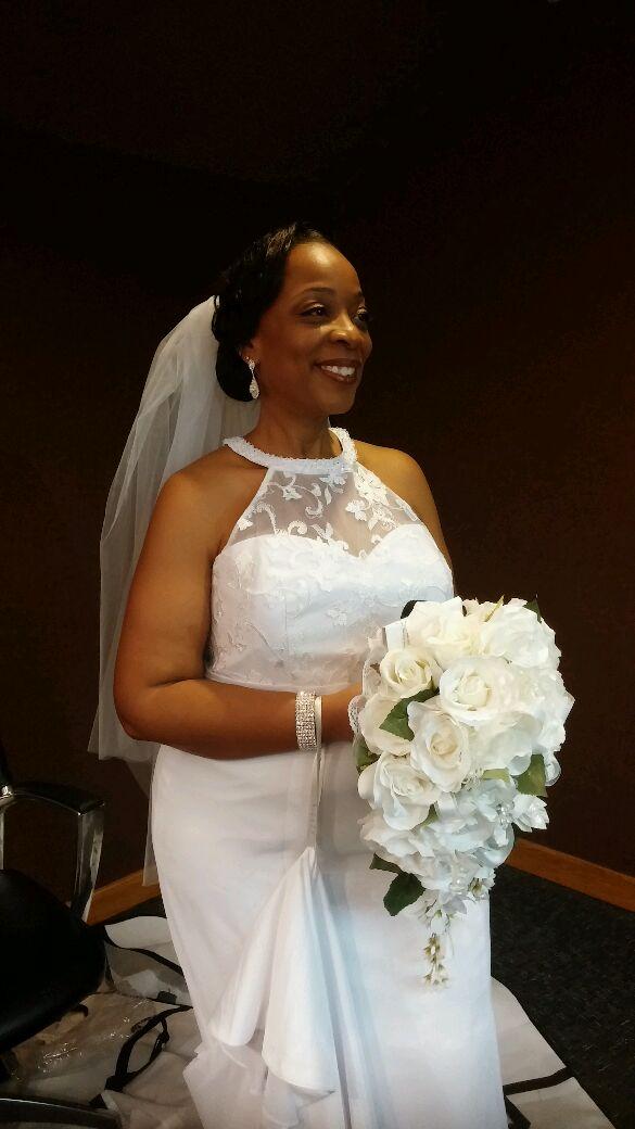 e917b6182b Azazie Louise BG Wedding Dress