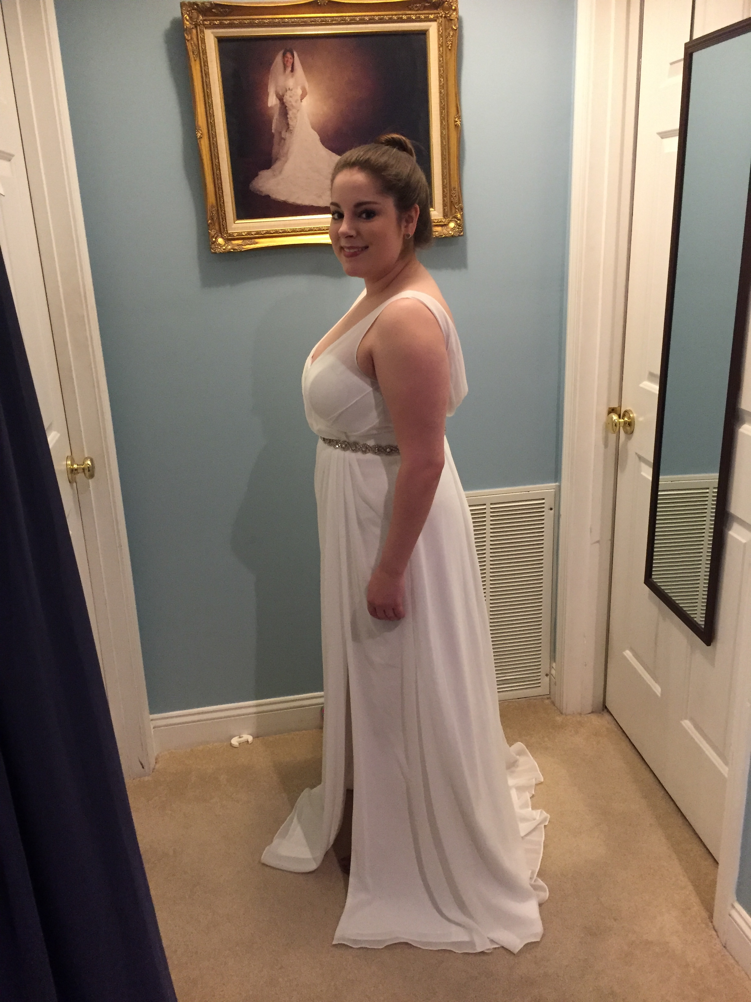 E908f4b3e86e7488dfdf354c480ed4c4g and fit to this dress very flattering to a curvy figure or a heavy bust this is one size smaller than what i will order but you can get the picture ombrellifo Images
