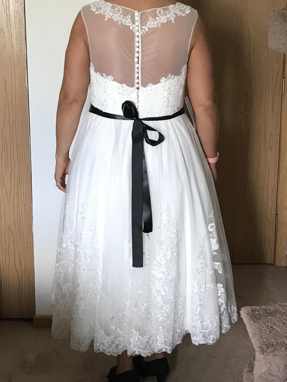 Azazie Claudette BG Wedding Dress