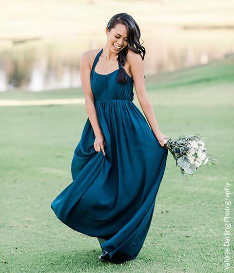 Shop Dark Navy Bridesmaid Dresses