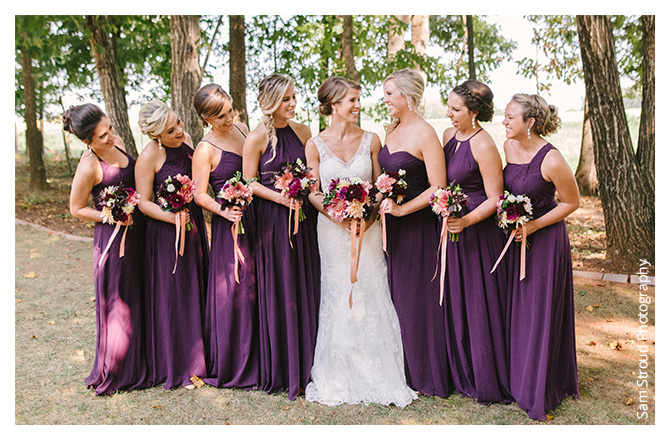 Shop Grape Bridesmaid Dresses
