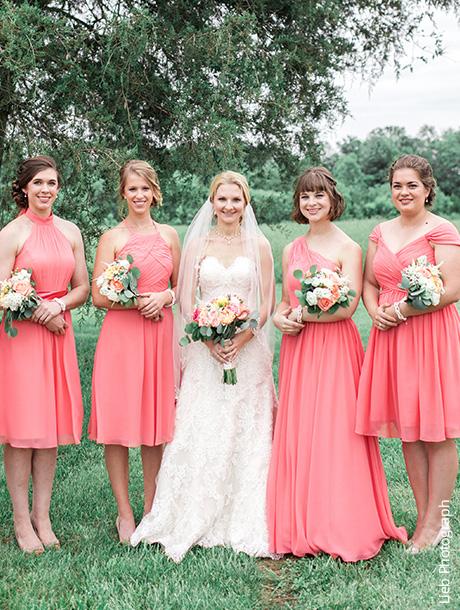 Shop Watermelon Bridesmaid Dresses