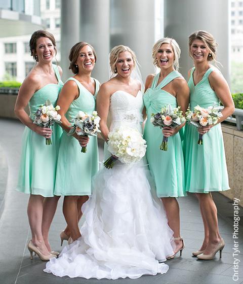 Shop Mint Green Bridesmaid Dresses