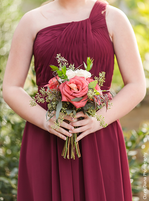 Shop Cabernet Bridesmaid Dresses
