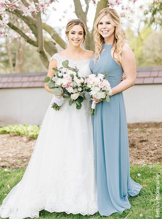 Shop Dusty Blue Bridesmaid Dresses