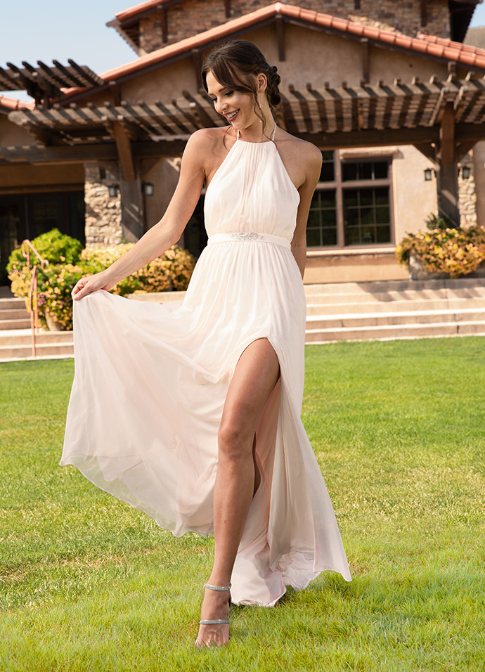Shop Mesh Bridesmaid Dresses>>