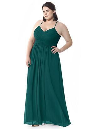 Plus Size Bridesmaid Dress Color Guide   Azazie