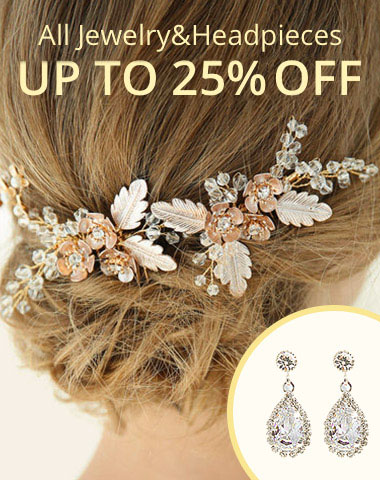 All Jewelry&Headpieces UP TO 25%OFF