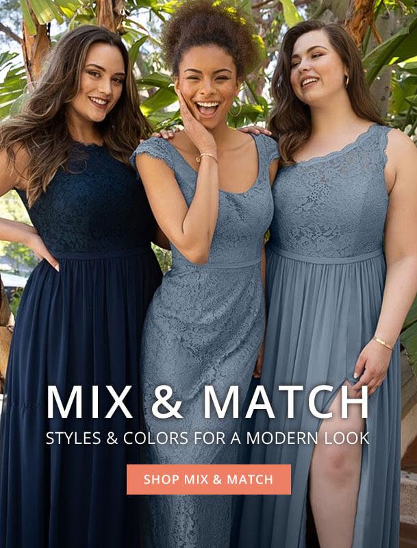 shop bridesmaid dresses
