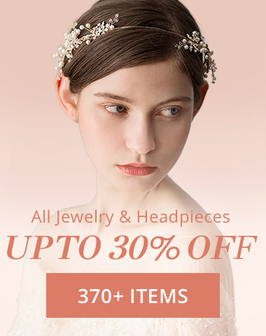 All Jewelry&Headpieces UP TO 30%OFF 370+ITEMS