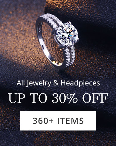 All Jewelry&Headpieces UP TO 30%OFF 360+ITEMS