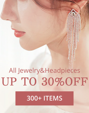 All Jewelry&Headpieces UP TO 30%OFF 280+ITEMS