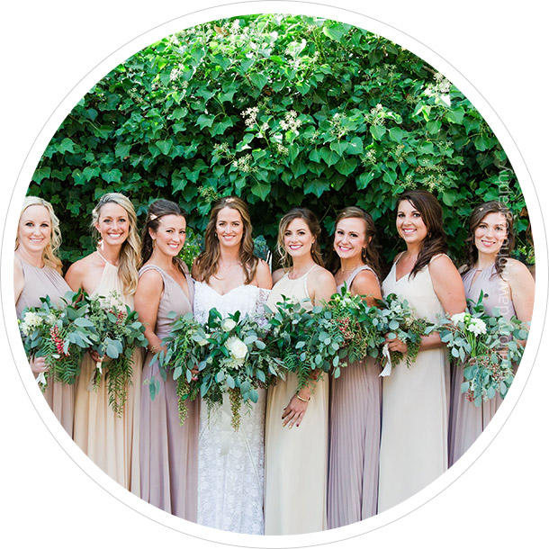 Shop Mix+Match Bridesmaid Dresses>>