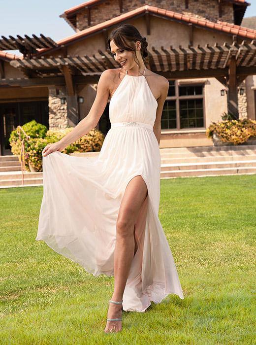 Shop Mesh Bridesmaid Dresses>>