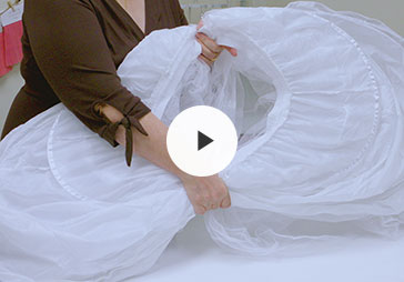How To Pack A Crinoline