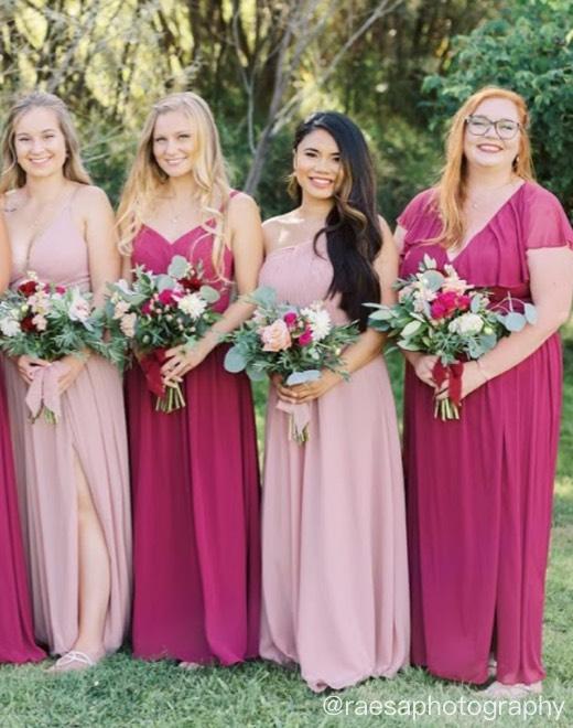 Shop Pink Dresses >