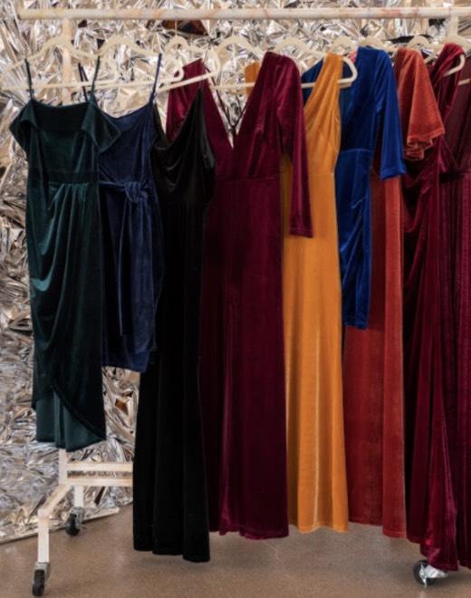 Shop Velvet Dresses >