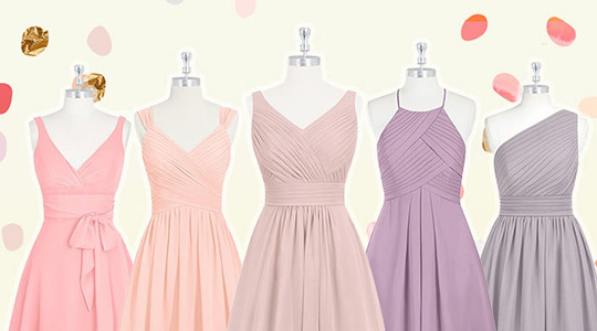 Tan Bridesmaid Dresses